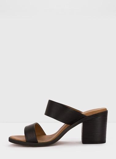 Aldo Luryan-Tr - Siyah Kadin Topuklu Terlik Siyah